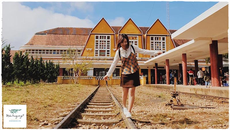 đường ray xe lửa đà lạt